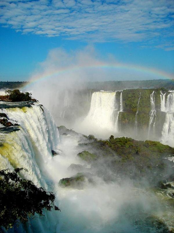 Водоспад Ігуасу, Аргентина, Бразилія та Парагвай