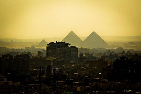 Піраміди Гізи, Єгипет